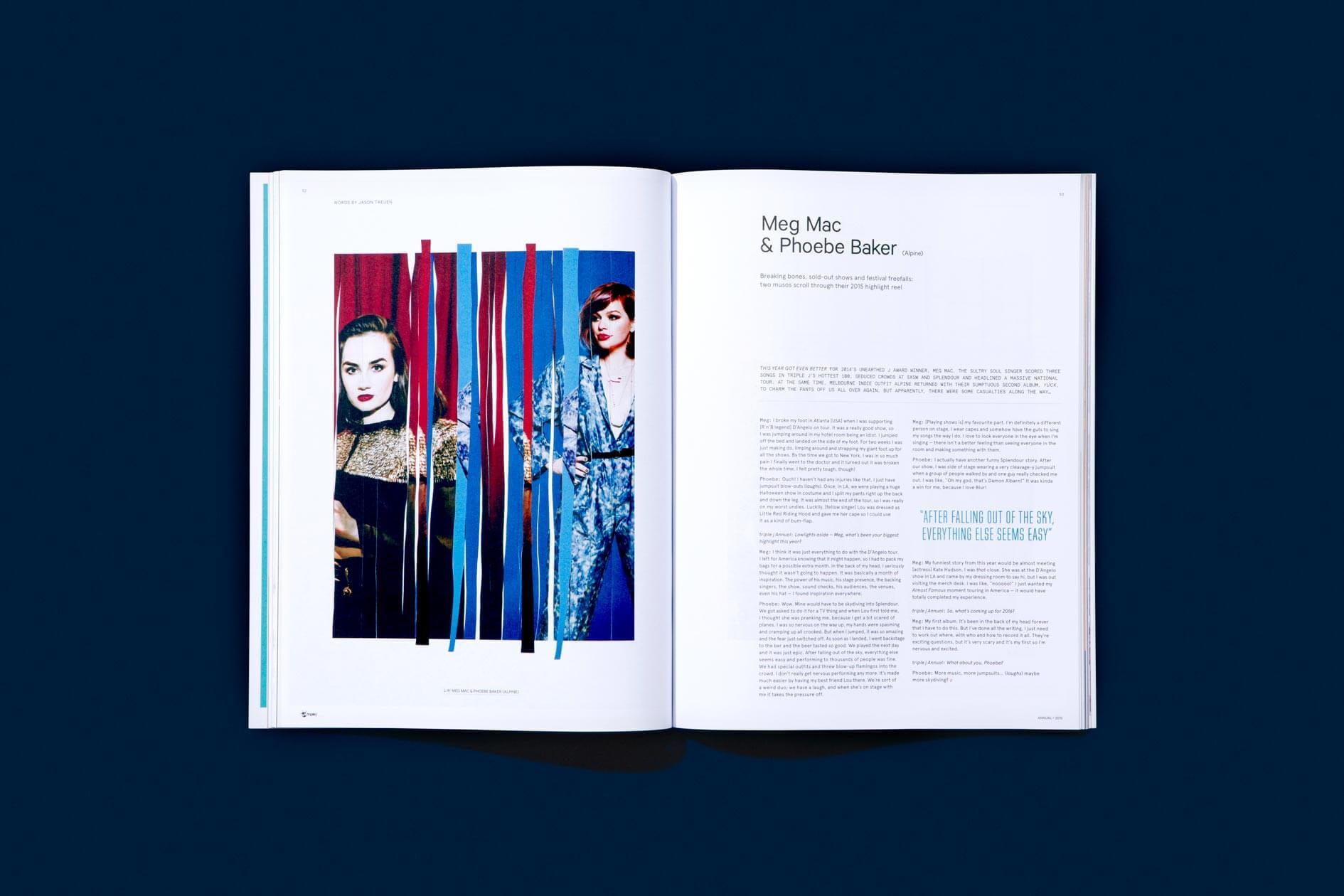 NatCarroll_triplej_Annual_2015_Magazine_MegMac_PhoebeBaker_Spread_10col